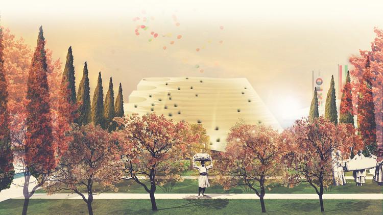 Expo Milão 2015: NJP e LAD vencem competição para o Pavilhão do Irã , © NJP, LAD