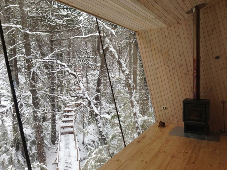 Winter Cabin In Malalcahuello / MC2 Arquitectos, Courtesy of MC2 Arquitectos