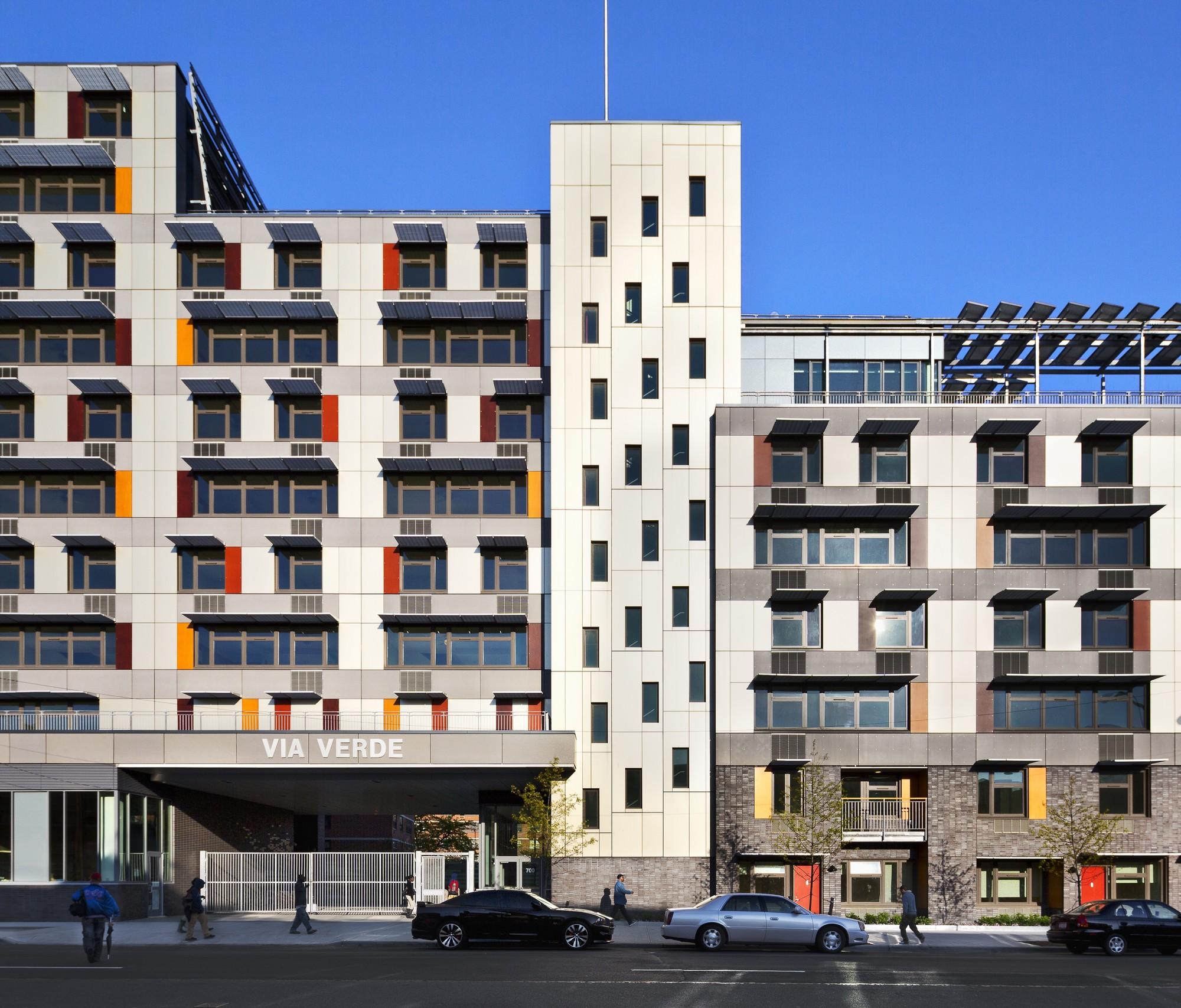 Cheap Apartments In Dc: Via Verde / Grimshaw + Dattner Architects