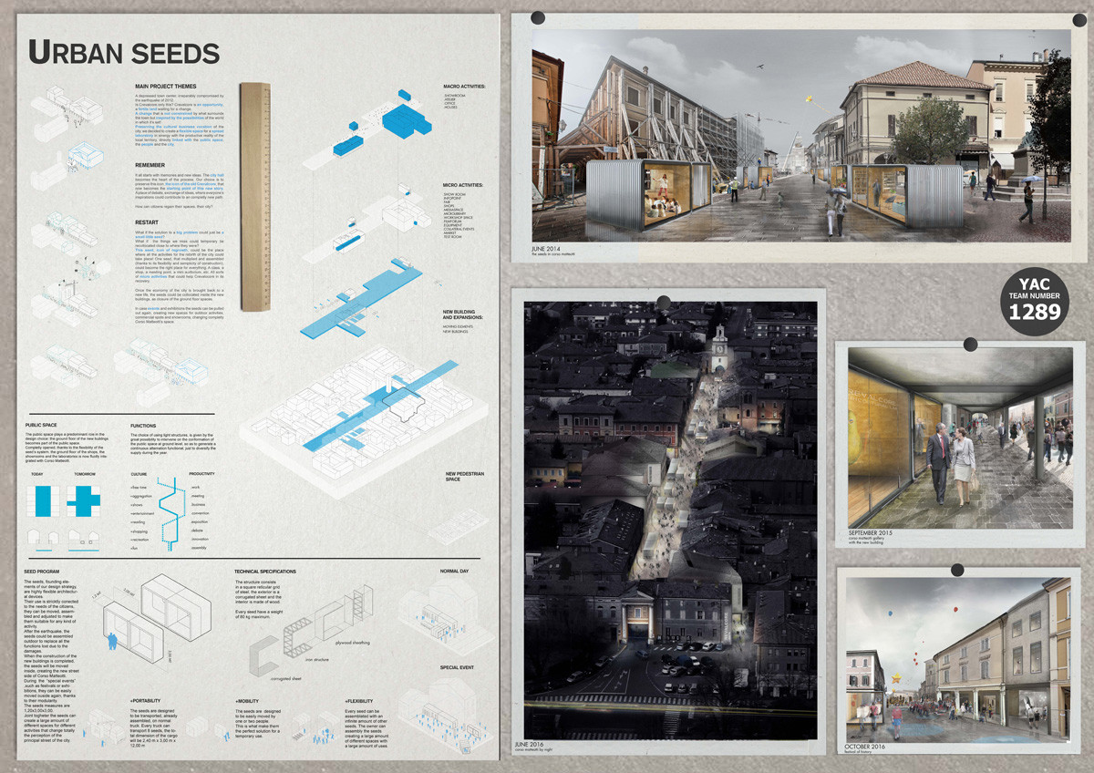 """Post-Quake Visions"" Young Architects Competition Results Announced"