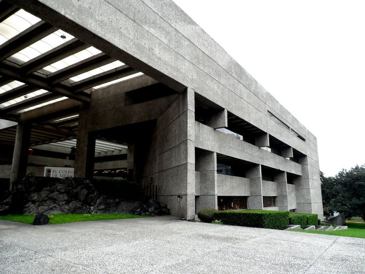 Cl sico de arquitectura el colegio de m xico abraham - Colegio arquitectos leon ...