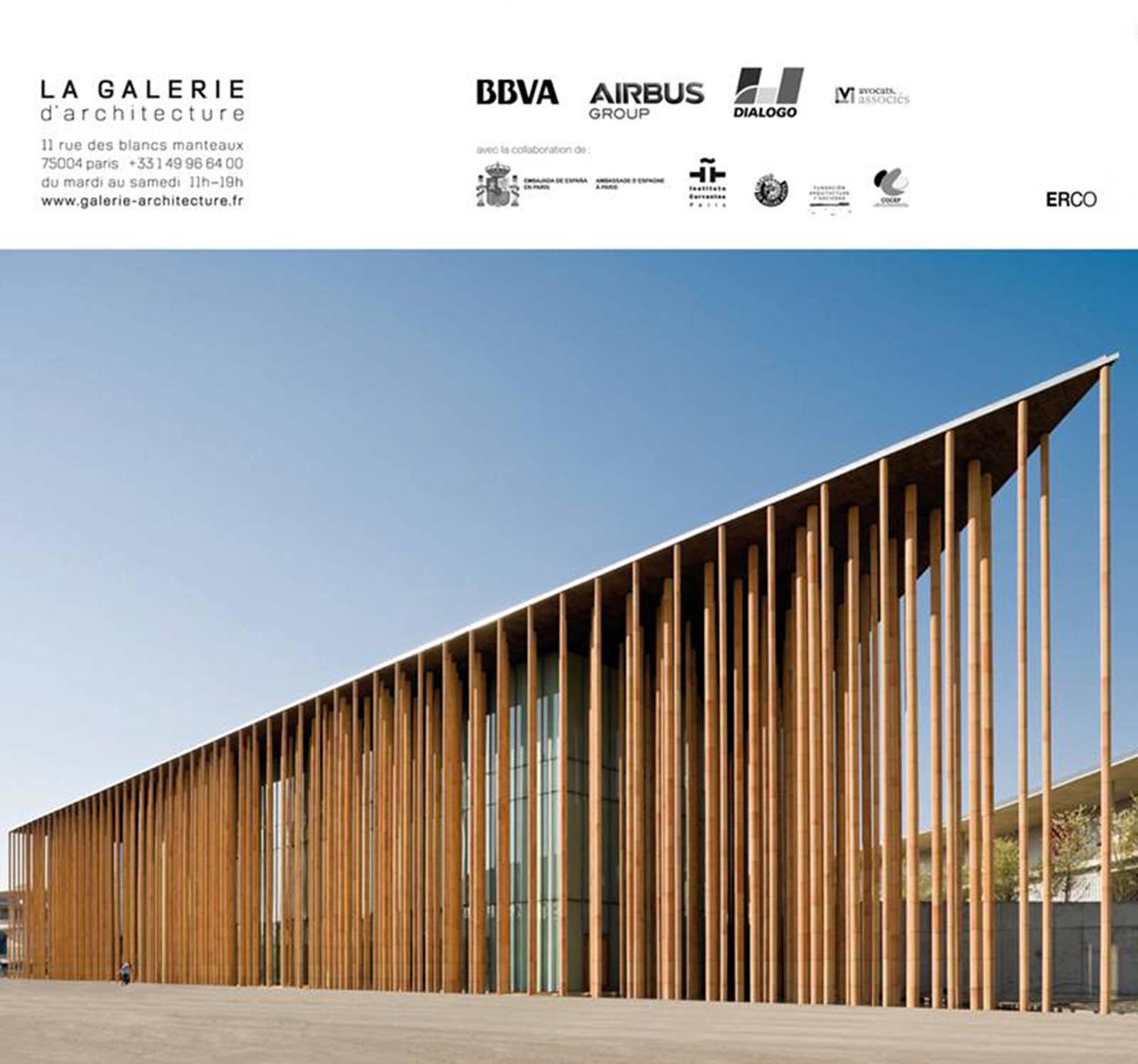 Obra del arquitecto Francisco Mangado será exhibida en Paris, Courtesy of La Galerie D'Architecture