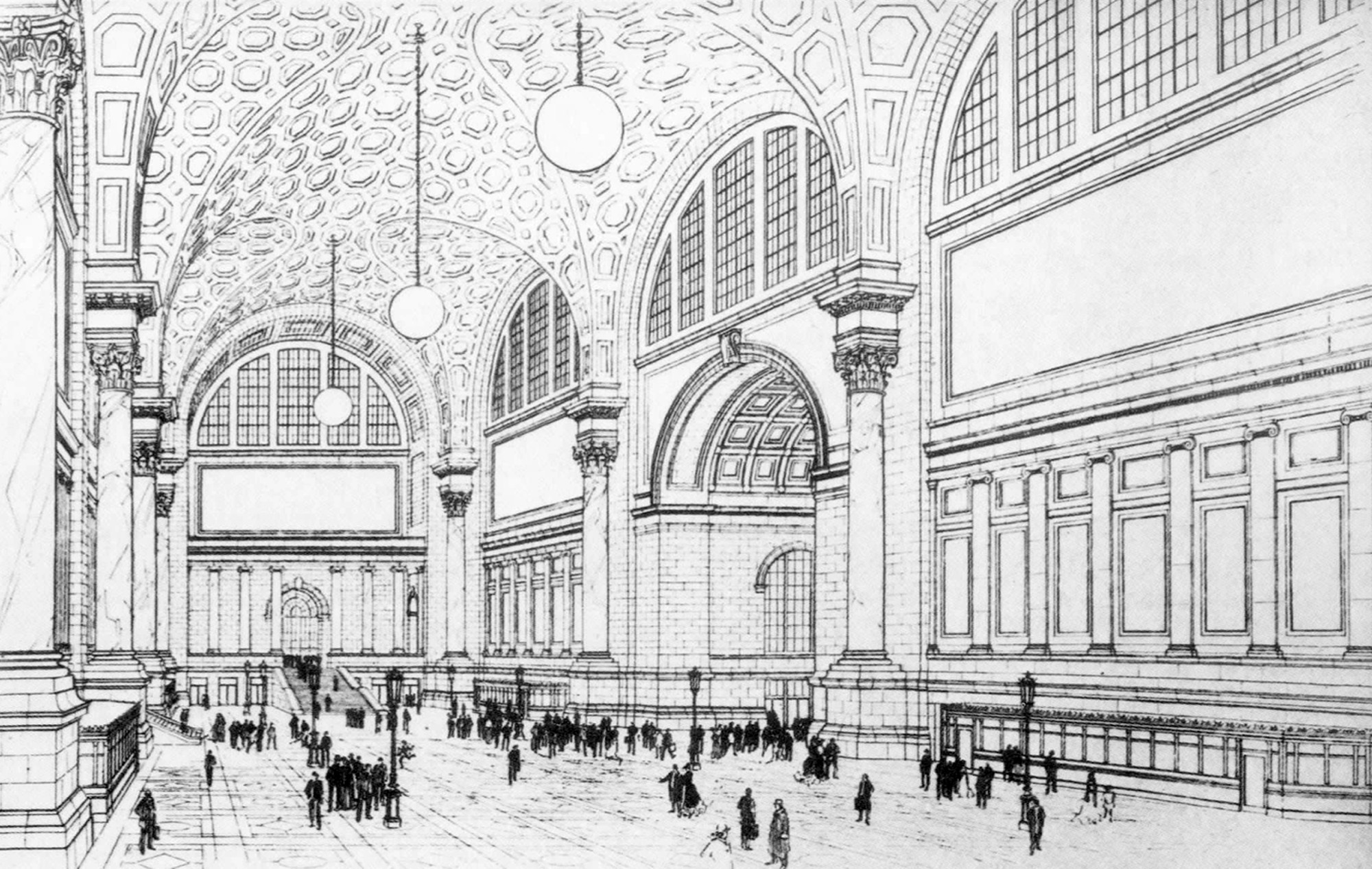 Gallery Of Ad Classics Pennsylvania Station Mckim Mead
