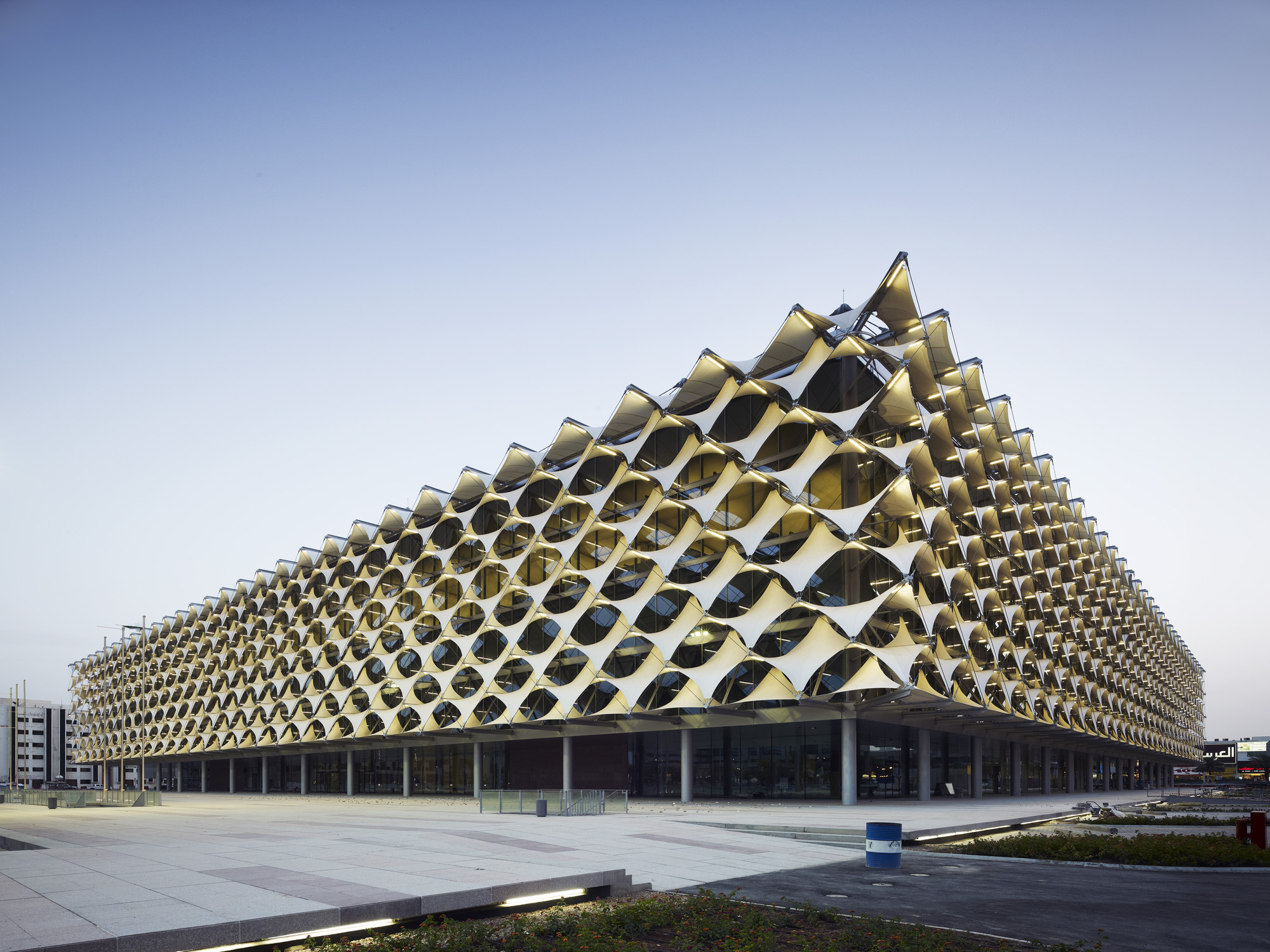 King Fahad National Library Gerber Architekten Archdaily