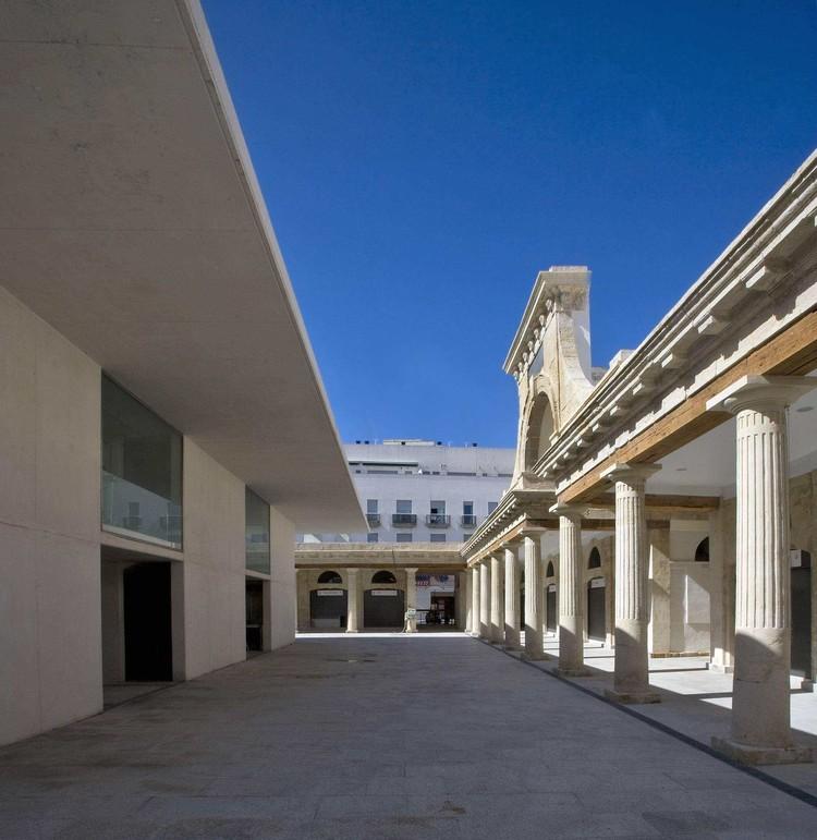 Requalificação e ampliação do Mercado Central de Cadiz / Carlos de Riaño Lozano, © Javier Reina Gutierrez