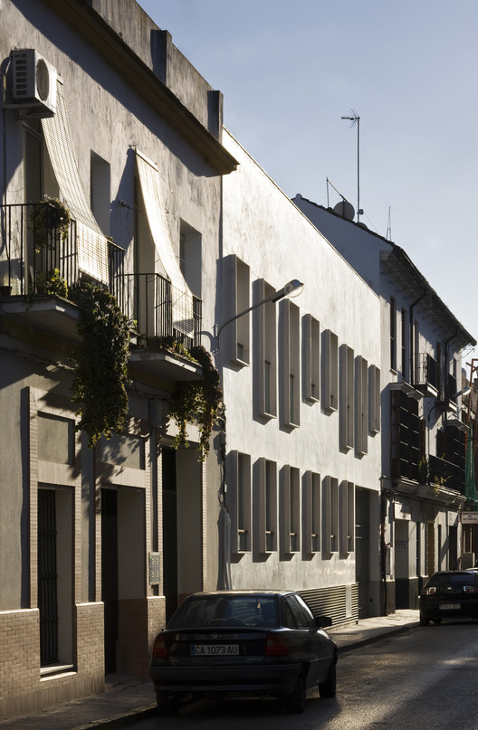 9 Dwellings in the Historic Center of Sanlucar de Barrameda / Suárez Corchete, © Fernando Alda