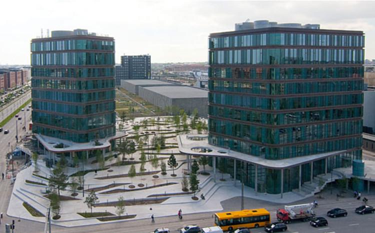 Projeto Urbano: City Dune, a praça privada , Fonte: sla.dk
