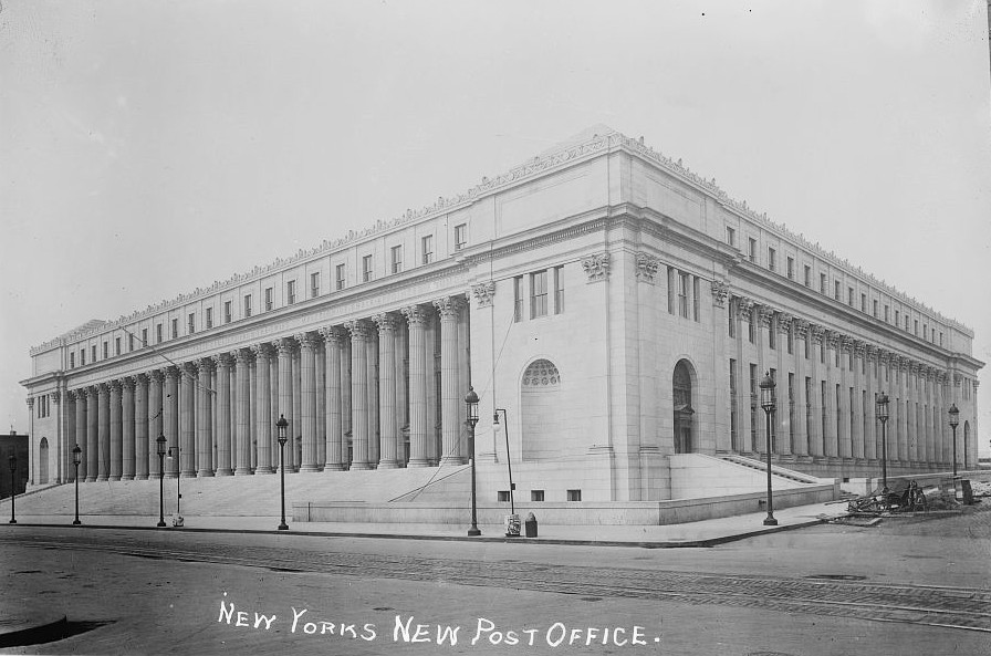 The United States Post Office, 1915. Image © Library of Congress