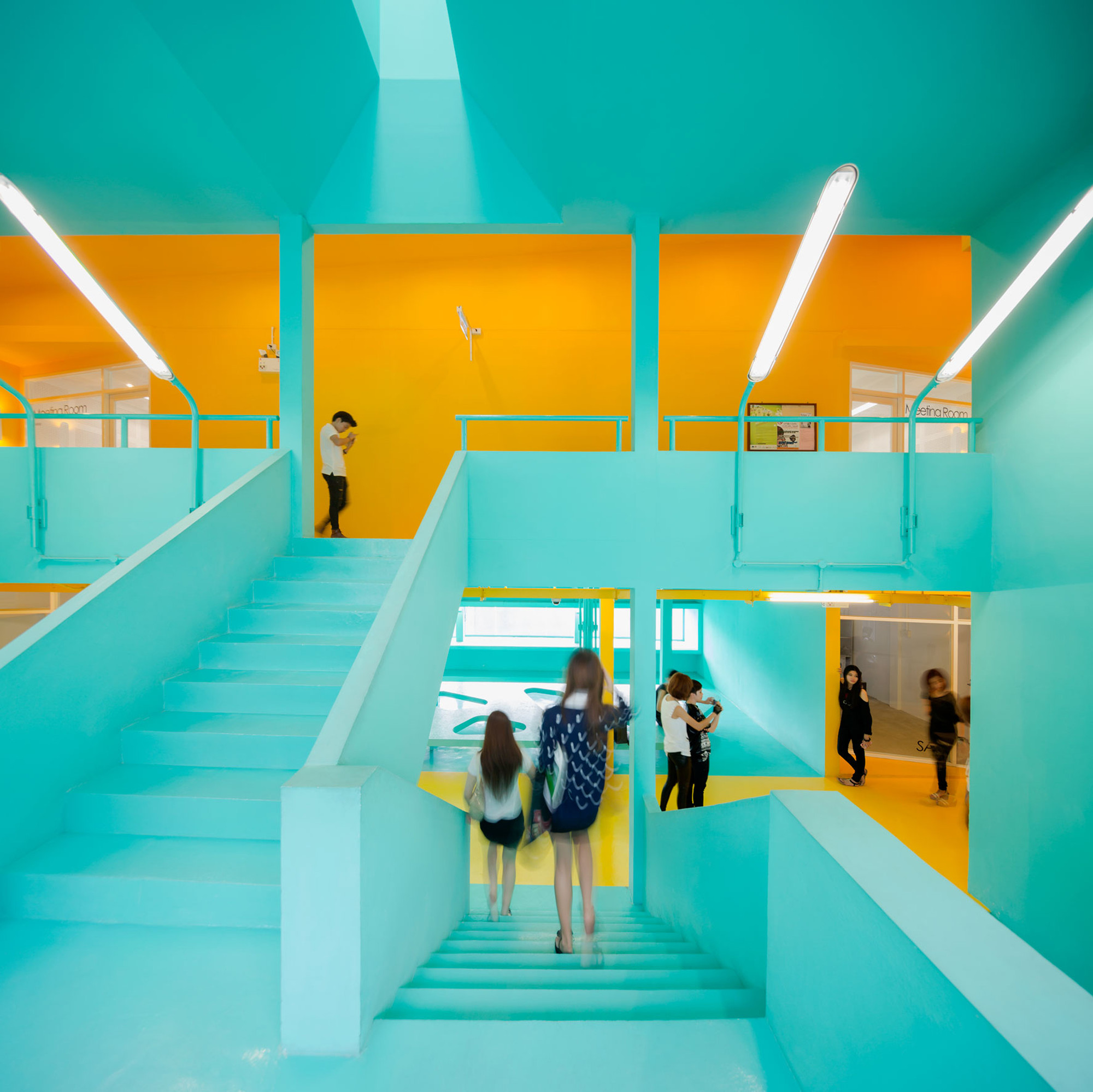 Classroom Design Activities ~ Gallery of student activity center at bangkok university