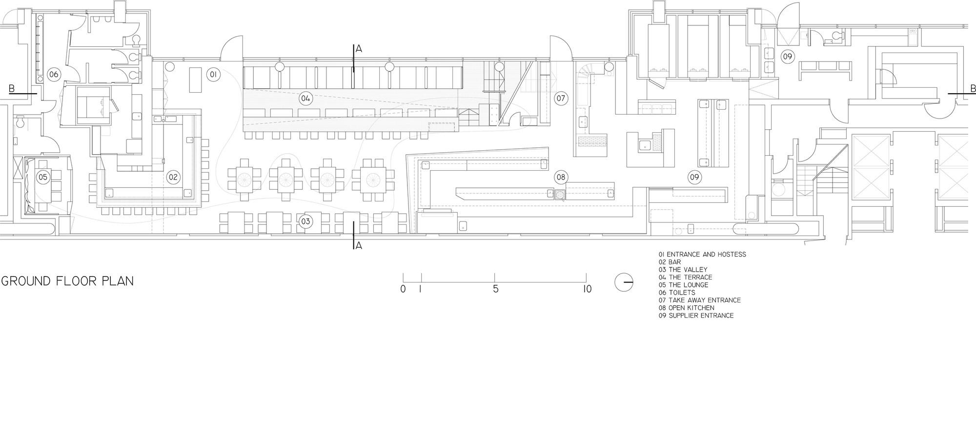 Topolopompo Fire Kitchen Baranowitz Kronenberg Architecture Ltd Archdaily