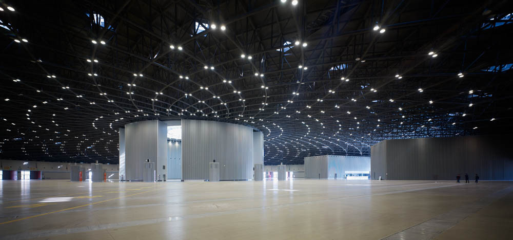 Exhibition Hall D Model : Gallery of china taiyuan coal transaction center a