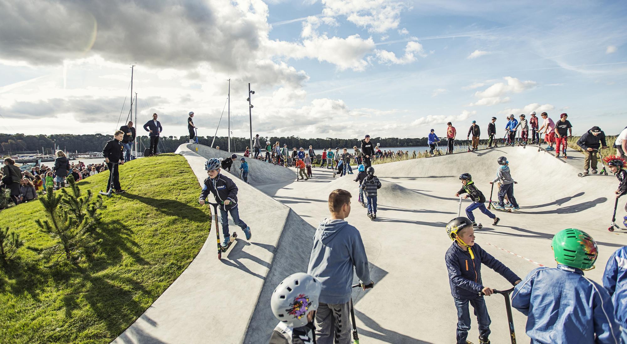 lemvig skatepark effekt archdaily