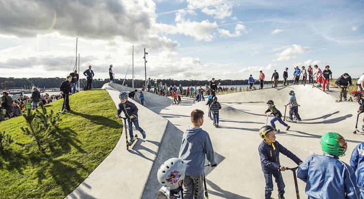 Skatepark LEMVIG / EFFEKT, © EFFEKT
