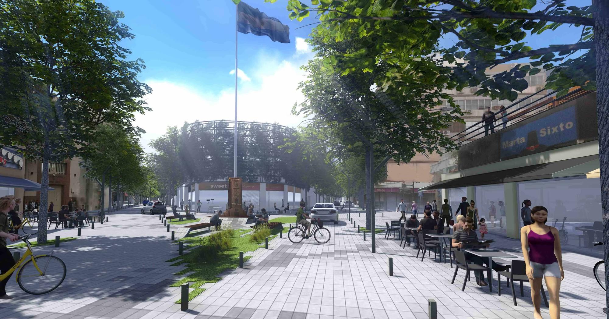 Tercer Lugar Concurso Nacional de Ideas para la Renovación urbana del área centro de San Isidro, Courtesy of ZIM Arquitextura + Pablo Guiraldes