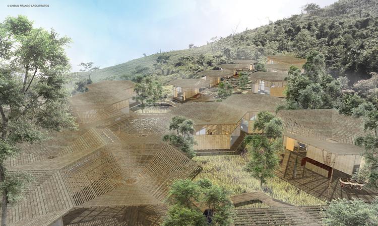 Centro Recreacional en Perú se adapta a su entorno natural a través de un sistema modular flexible , Cortesía de Cheng Franco Arquitectos