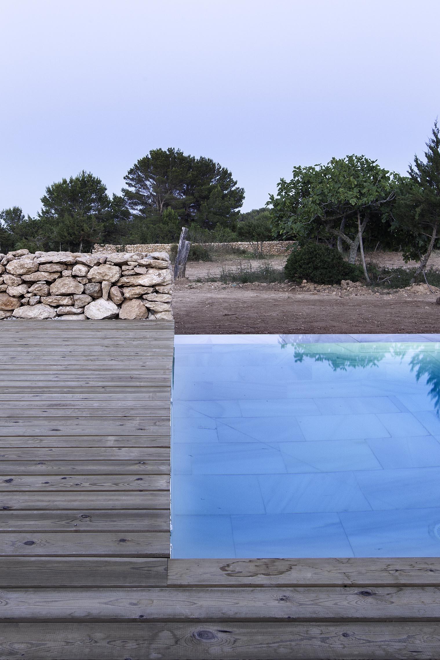 Galer a de arquitectura y paisaje piscina en formentera for Piscinas martianez