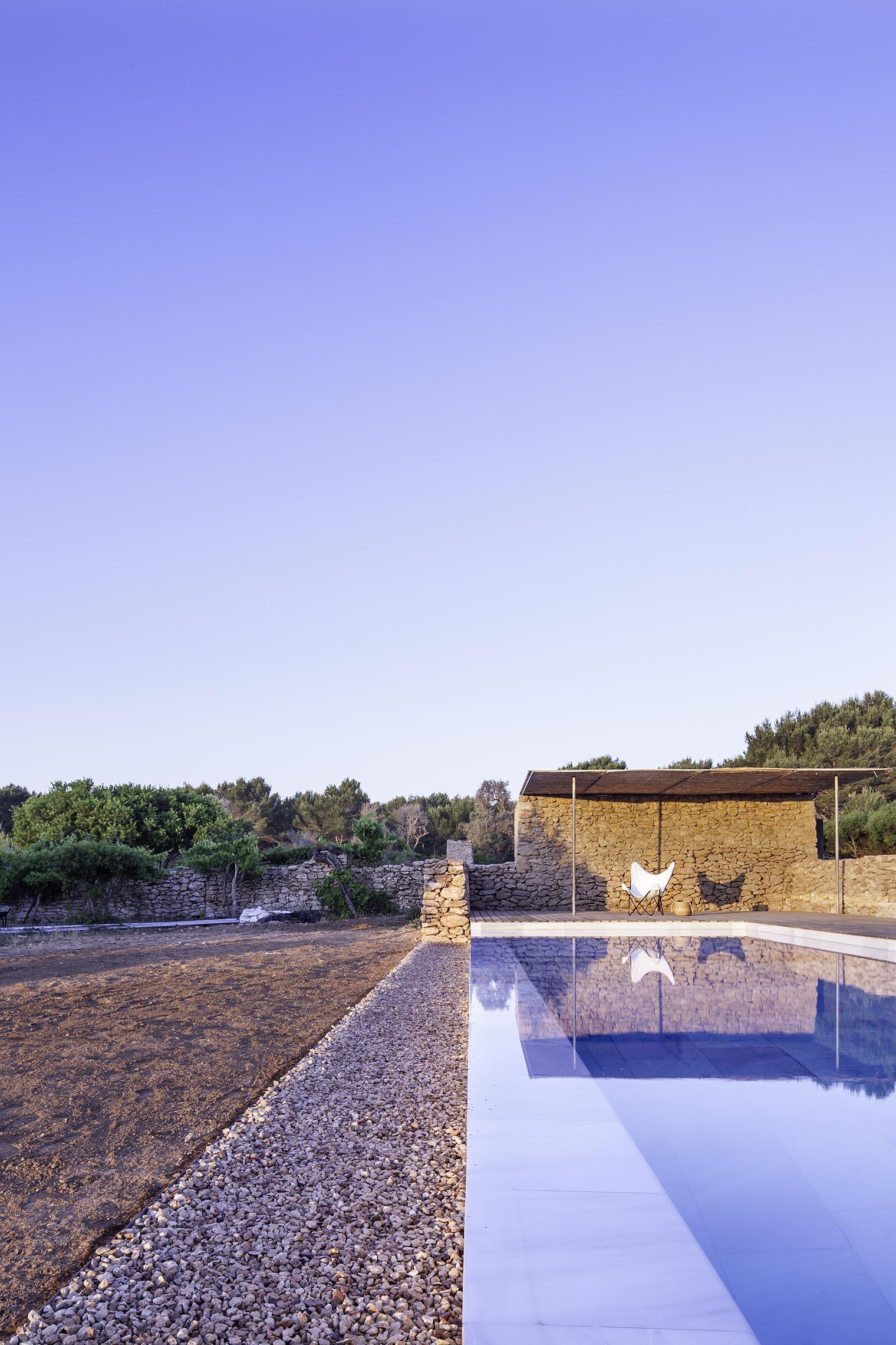Galer A De Arquitectura Y Paisaje Piscina En Formentera