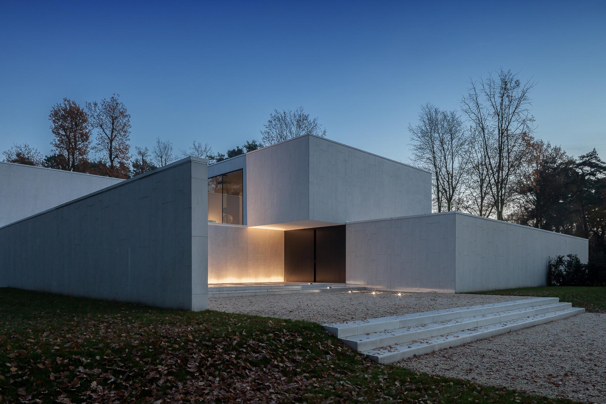 Galer a de residencia dm cubyc architects bvba 11 for Mot architecture