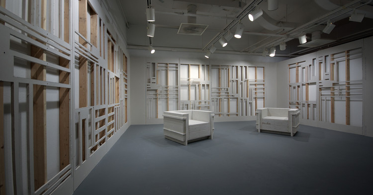 Arte e Arquitetura: desconstruir paredes para construir esculturas por Scott Carter, Less is More. Image © Scott Carter