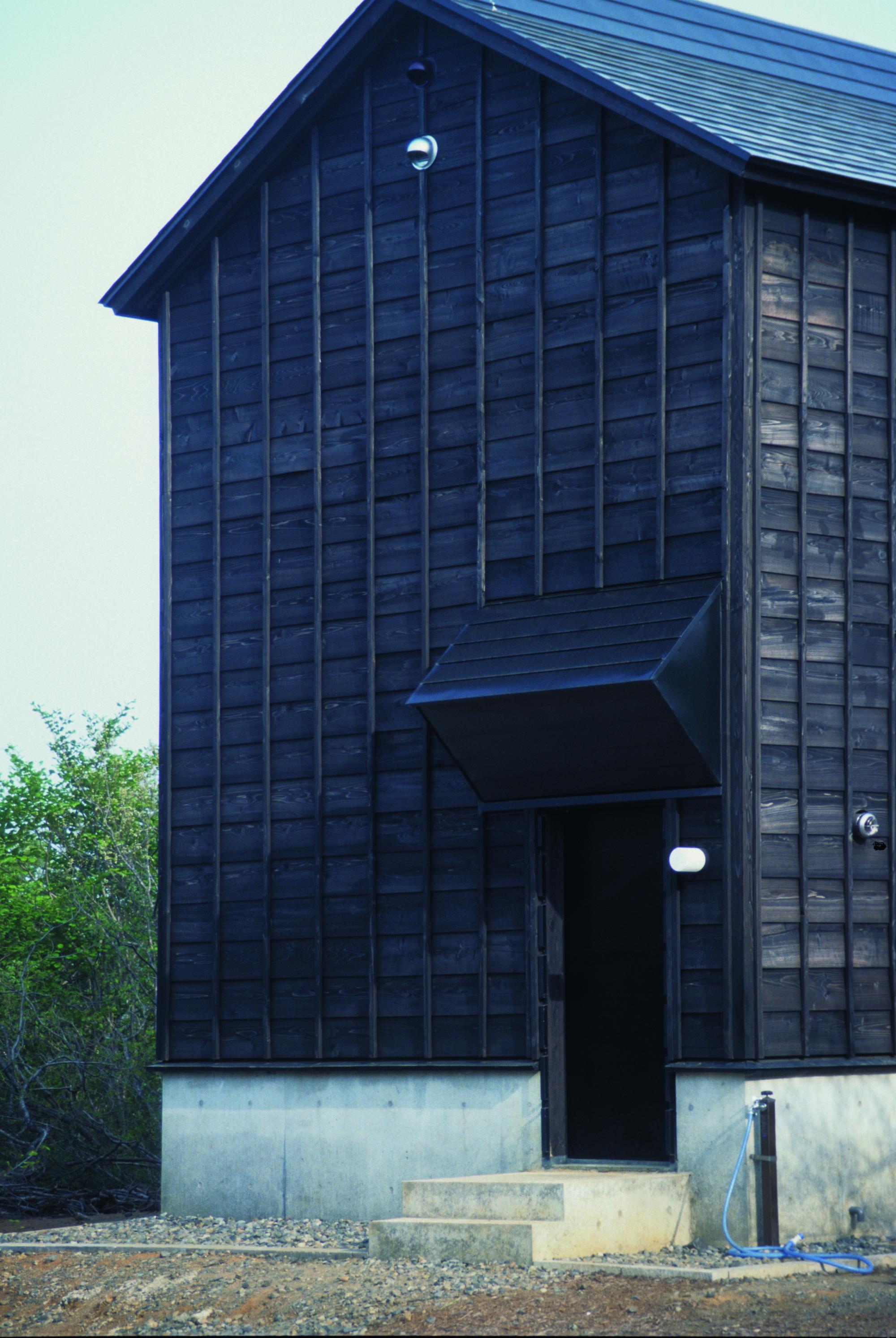gallery of cottage in tsumari daigo ishii future scape architects 5. Black Bedroom Furniture Sets. Home Design Ideas