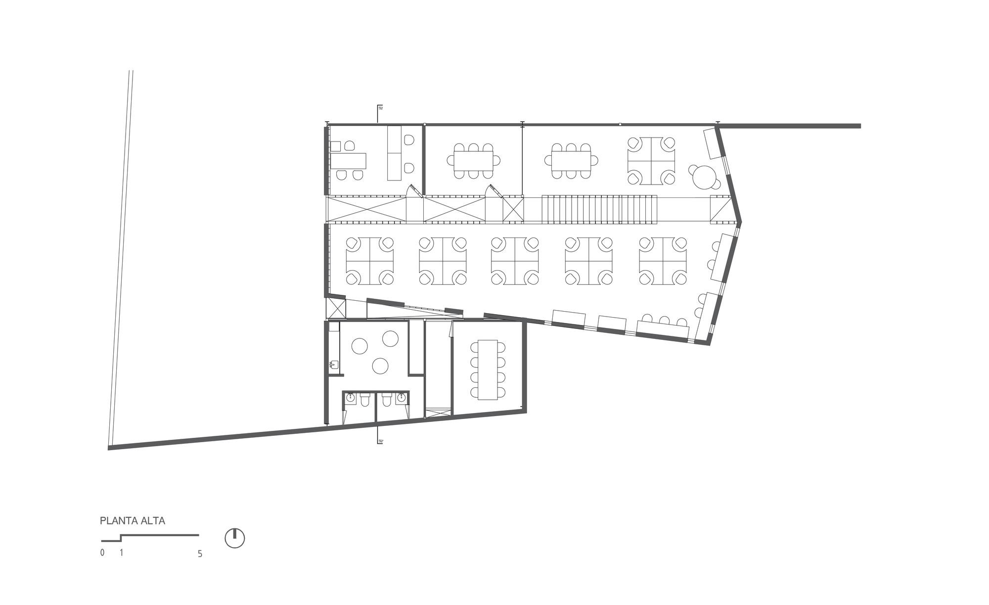 Galer a de bodega tesist n coa arquitectura estudio for Arquitectura 5 de mayo plan de estudios