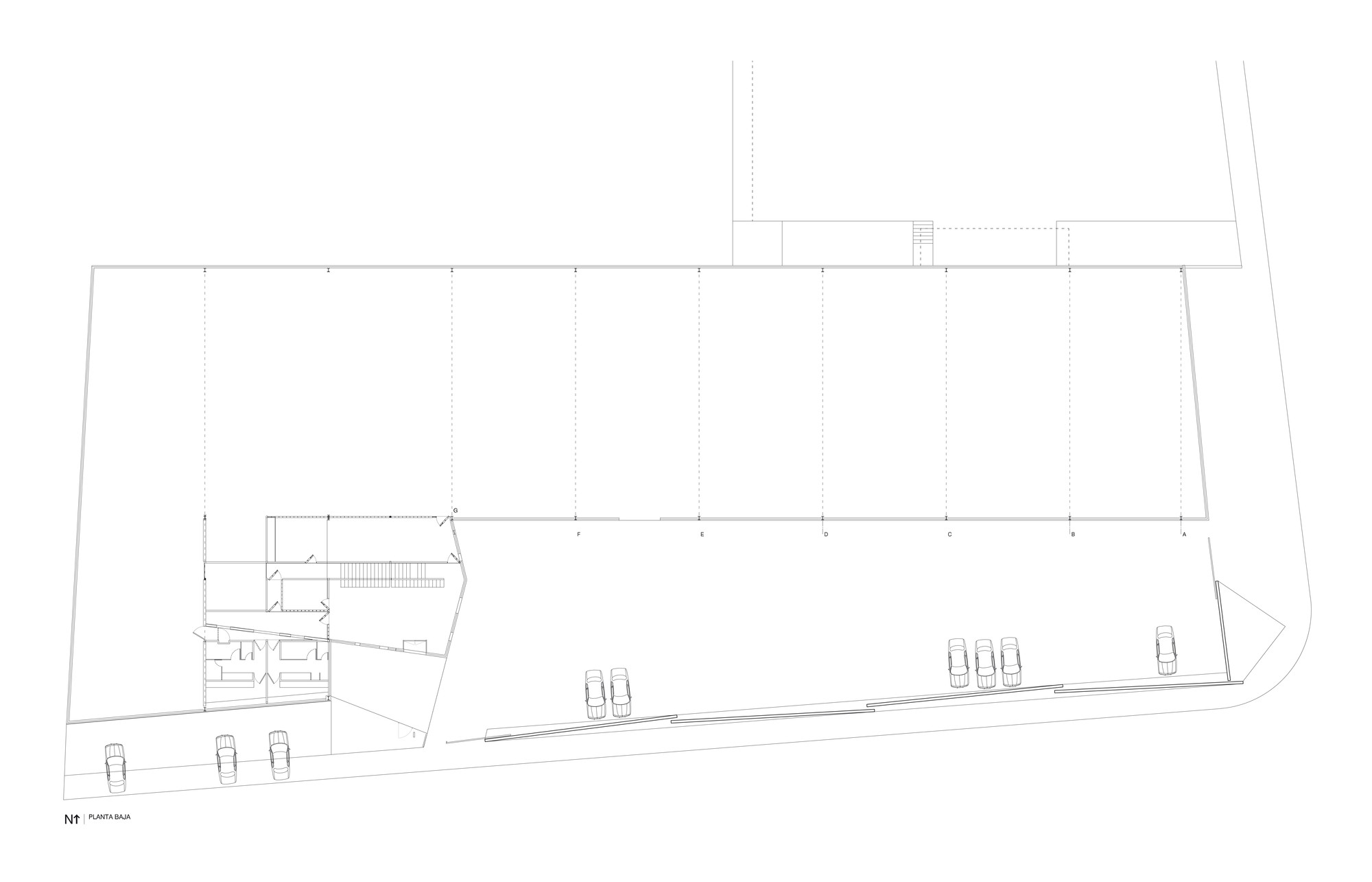 Gallery of tesistan warehouse coa arquitectura estudio for Plan estudios arquitectura