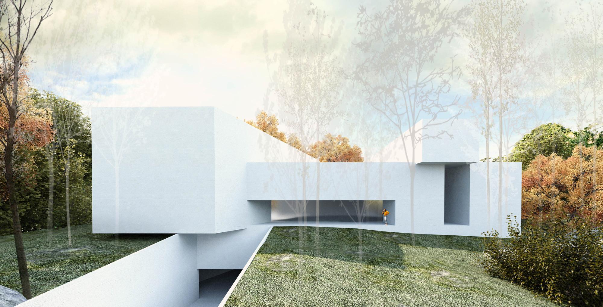 Tercer Lugar Concurso de Ideas Museo Mario Toral, Courtesy of Wolfgang Schoenbeck