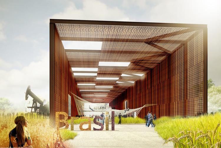 Resultados do concurso para o Pavilhão do Brasil na Expo Milão 2015, Primeiro Lugar - Studio Arthur Casas. Image Cortesia de IAB