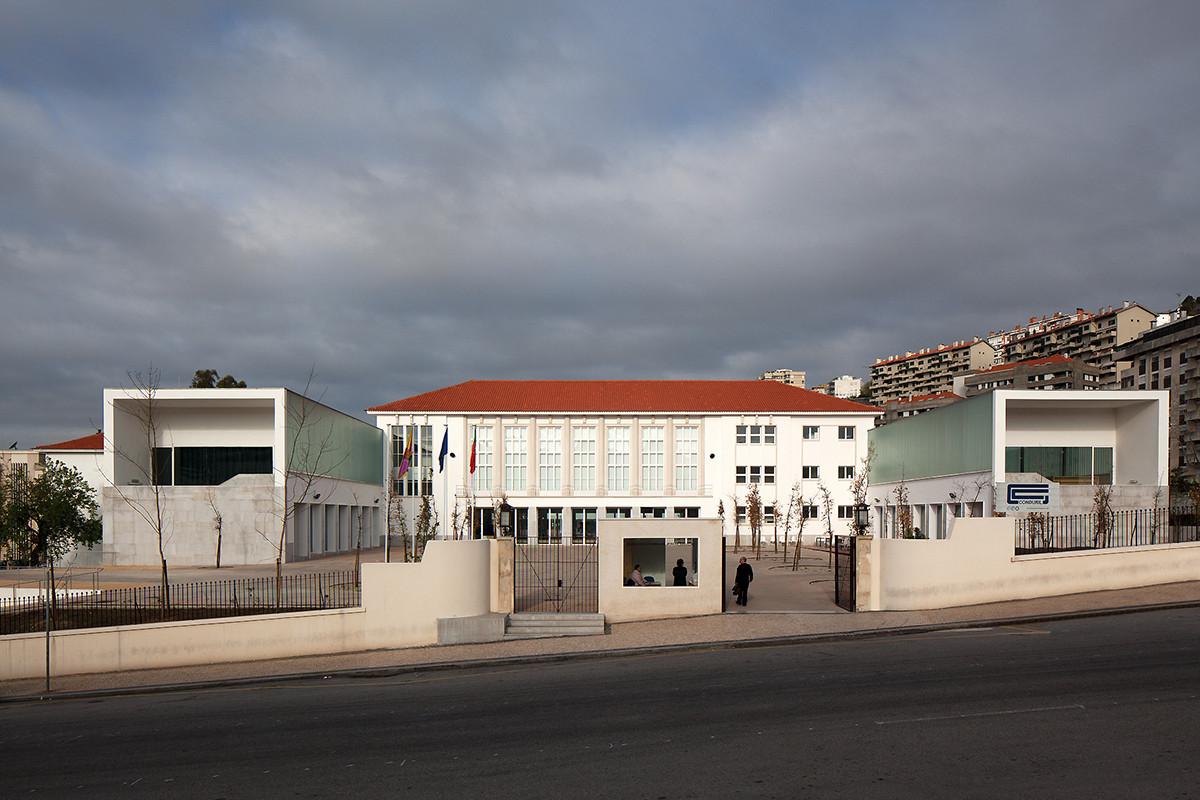Avelar Brotero Secondary School / Inês Lobo Arquitectos, © Leonardo Finotti