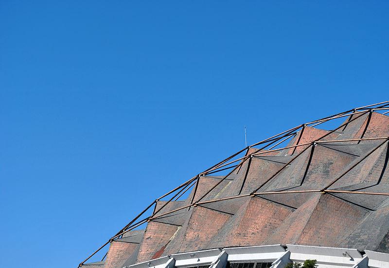 Galer a de cl sicos de arquitectura palacio de los for Puerta 7 palacio delos deportes