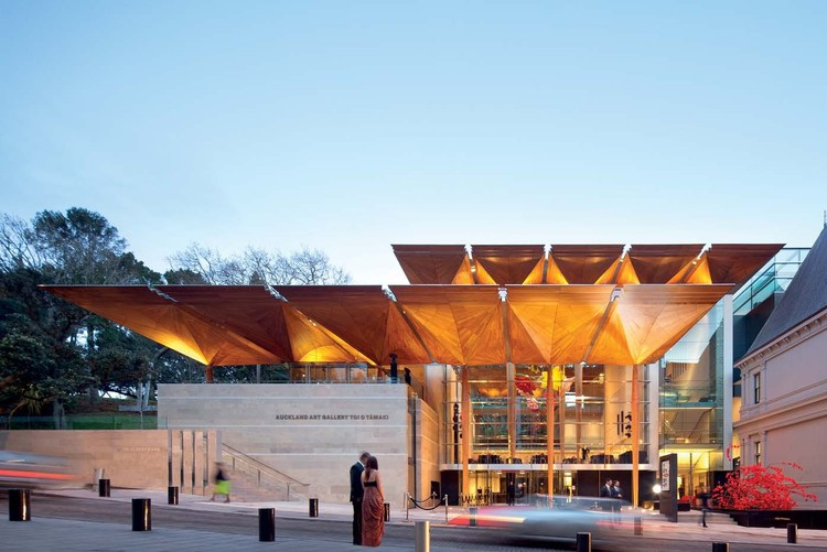 Bienal de Veneza 2014: Nova Zelândia foca na arquitetura do Pacífico, Auckland Art Gallery / FJMT + Archimedia. Image © John Gollings