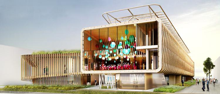 Proposta para o Pavilhão do Brasil na Expo Milão 2015 / figueroa.arq, Cortesia de figueroa.arq