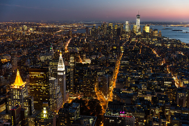 The Guardian Launches Guardian Cities, View of New York. Image © Flickr CC User Chris Chabot