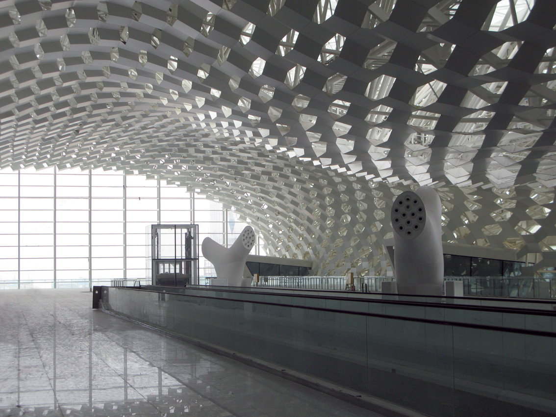 Gallery Of Shenzhen Bao An International Airport Studio