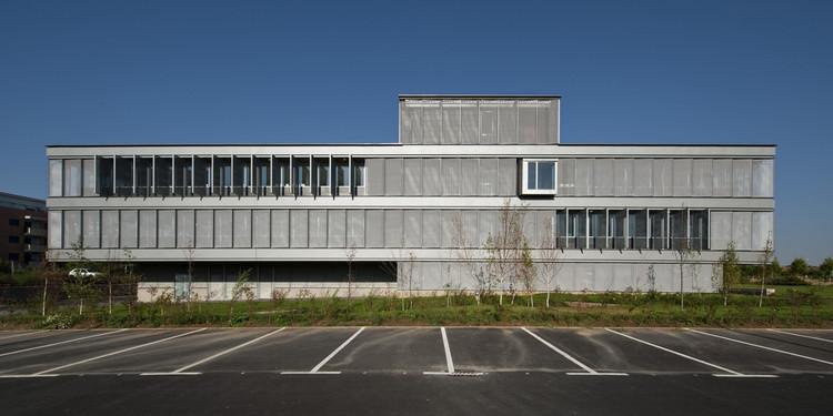 Modulo Tecnológico M2,  Universidad De Salamanca            / Sanchez Gil Arquitectos, © Fernando Sánchez Cuadrado