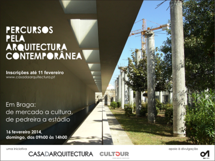 Casa da Arquitectura promove visita guiada por obras de Souto de Moura