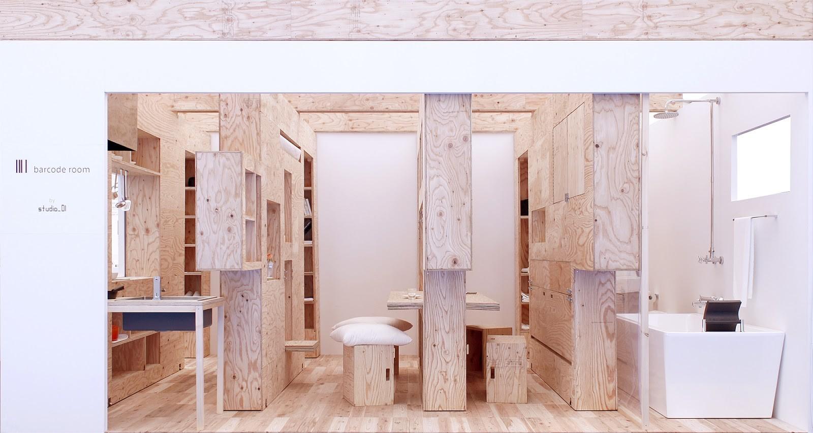 Barcode room un espacio m nimo y flexible a trav s de for Espacios minimos arquitectura