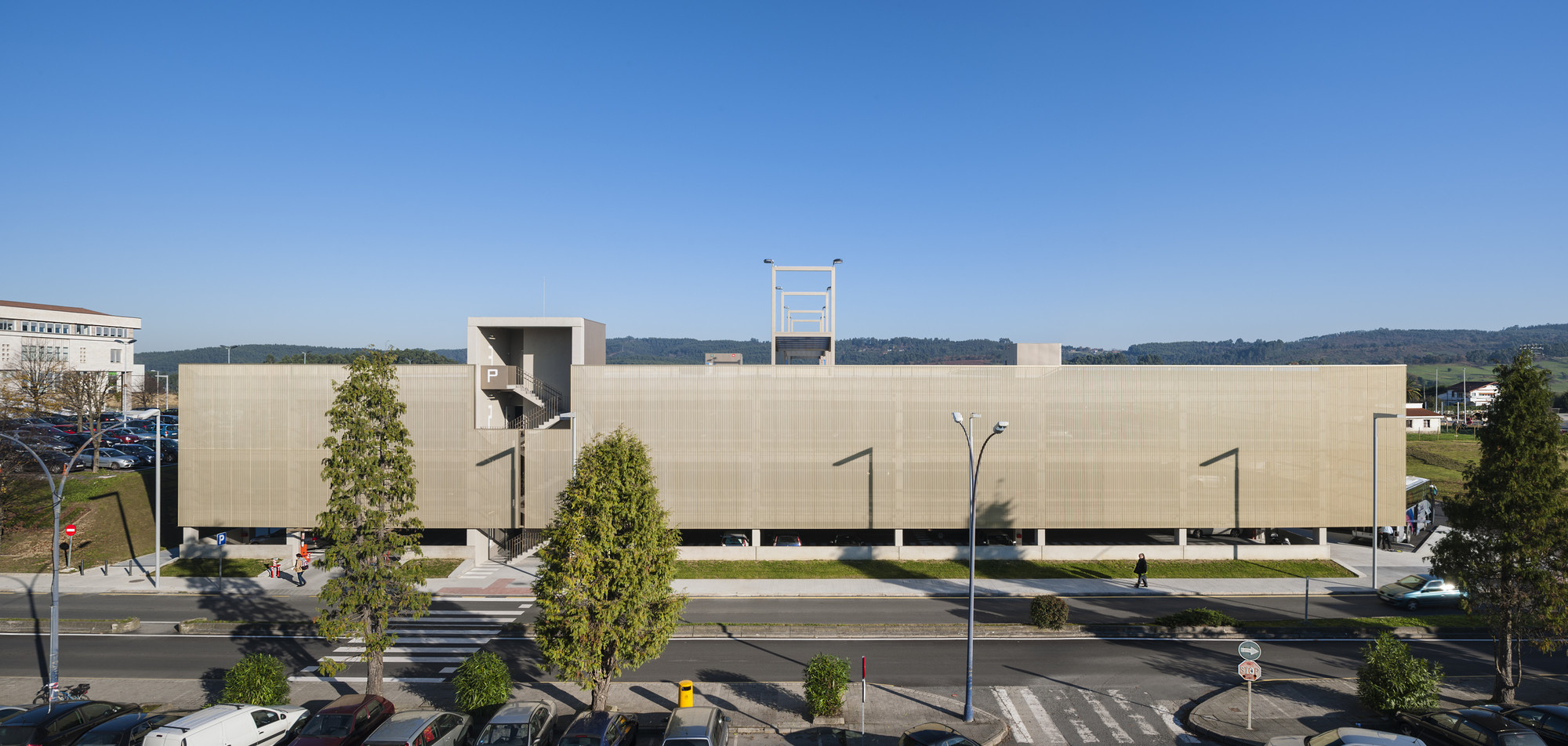 Parking Building / JAAM sociedad de arquitectura, © Iñigo Bujedo Aguirre