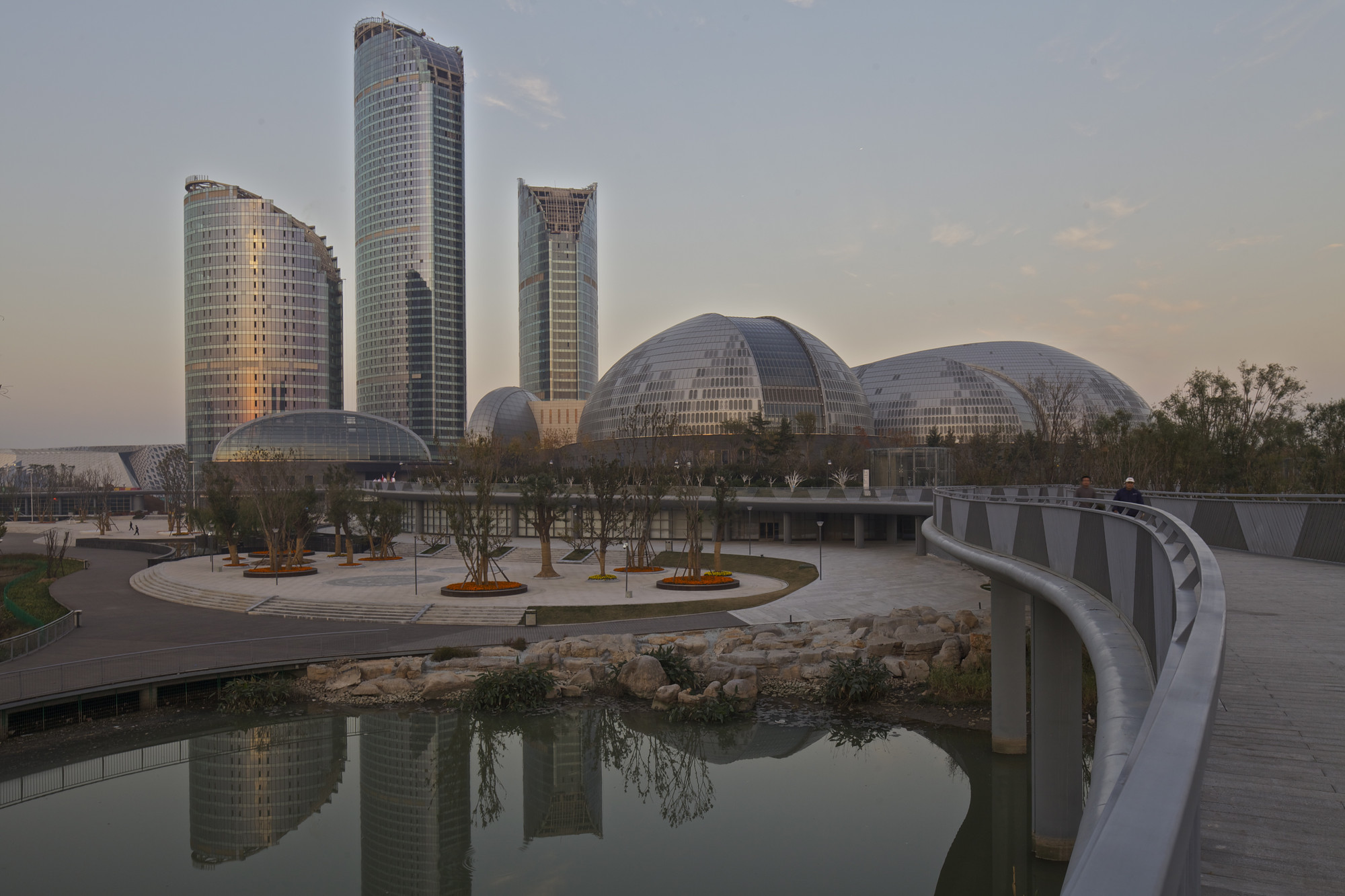 New Opera in Jinan / Paul Andreu Architecte, © Philippe Ruault
