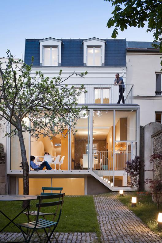 House in Vincennes / AZC, © Sergio Grazia