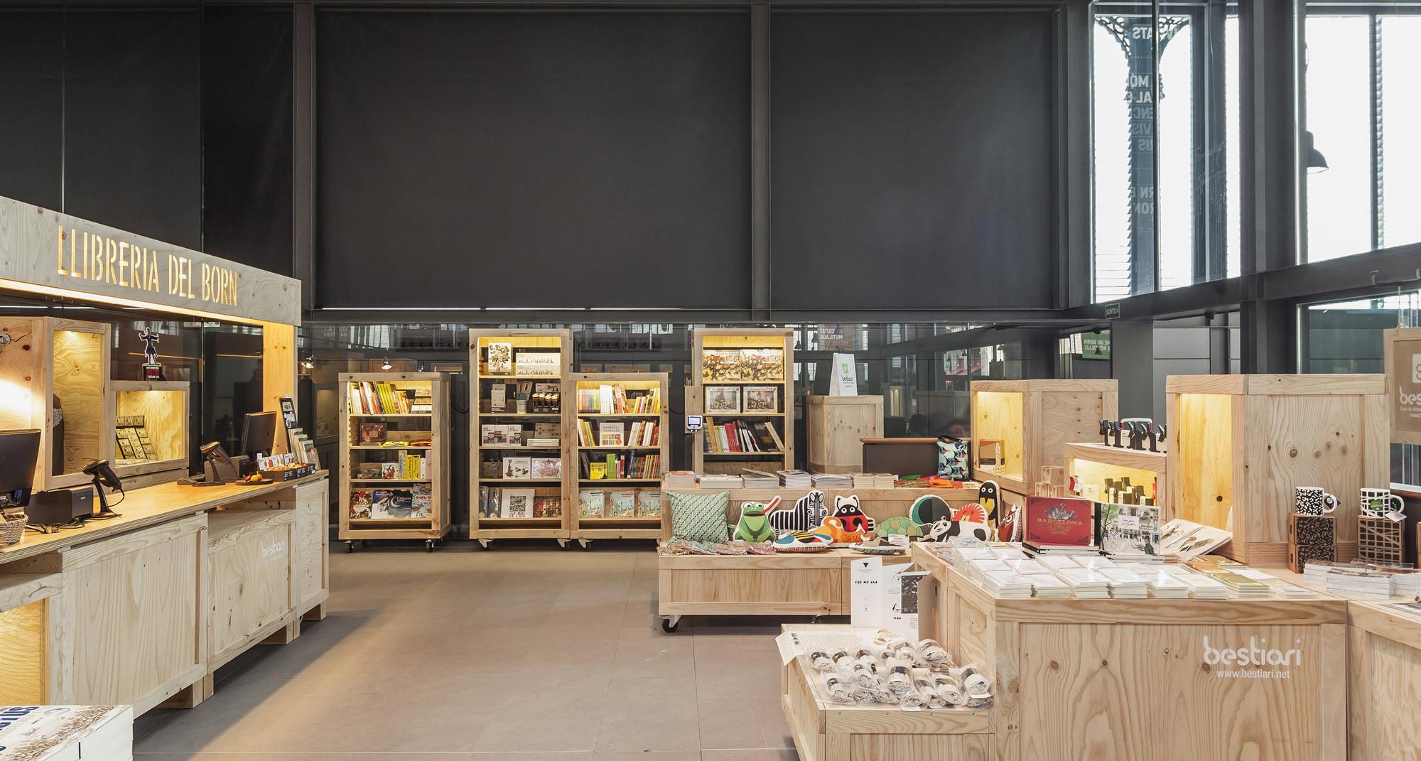 Galería de Bestiari Librería Del Born / Jorge Pérez Vale - 5