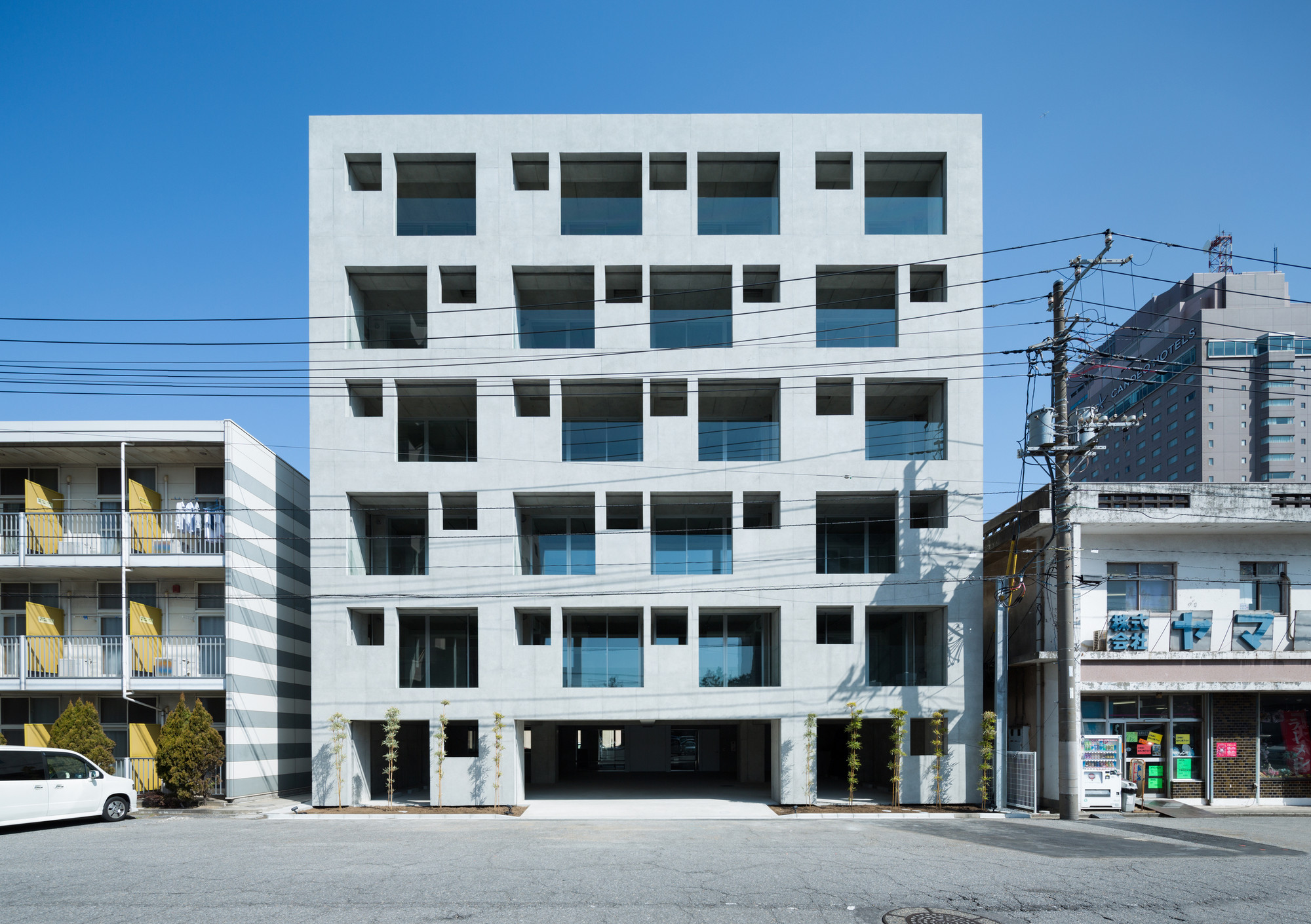 Carré / Soeda and associates Architects, © Takumi Ota