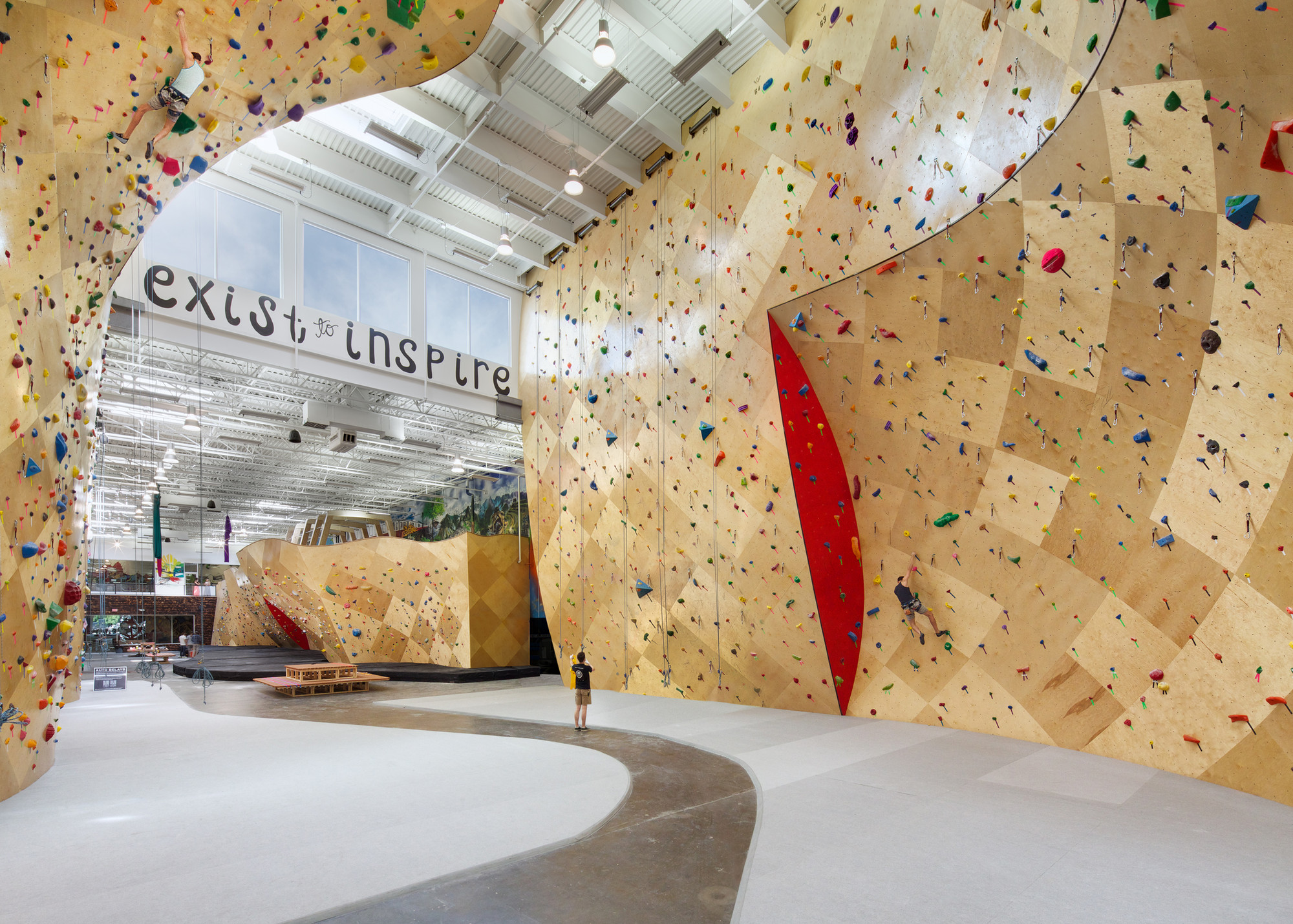 Brooklyn Boulders  / Arrowstreet + Chris Ryan, © Ed Wonsek
