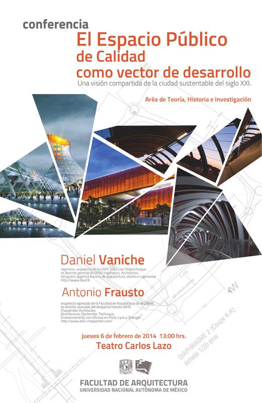 El espacio publico de calidad como vector de desarrollo sustentable / Conferencia Magistral UNAM