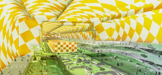 Parks and Rides. Image © Roger Sherman Architecture + Urban Design and the Long Island Index