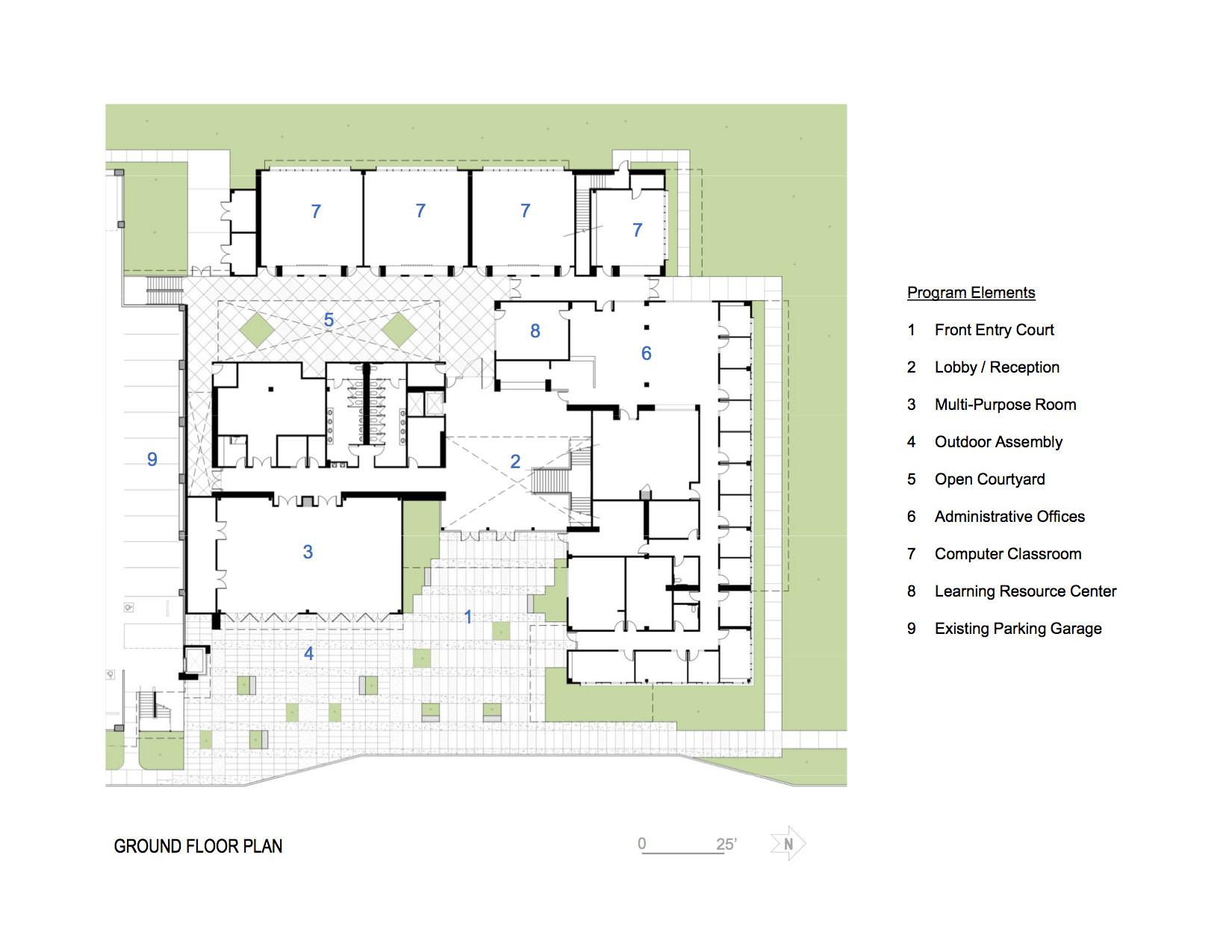 Designing A House Floor Plan Gallery Of North City Campus Jwda 17