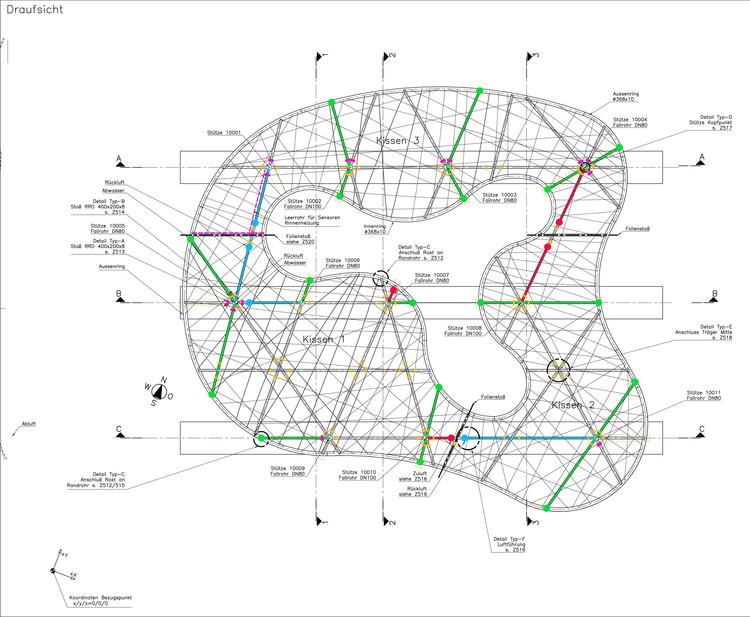 Structural Plan  sc 1 st  ArchDaily & Aarau Bus Station Canopy / Vehovar u0026 Jauslin Architektur   ArchDaily