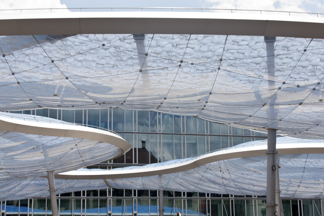 Gallery of aarau bus station canopy vehovar jauslin for K architecture geneve
