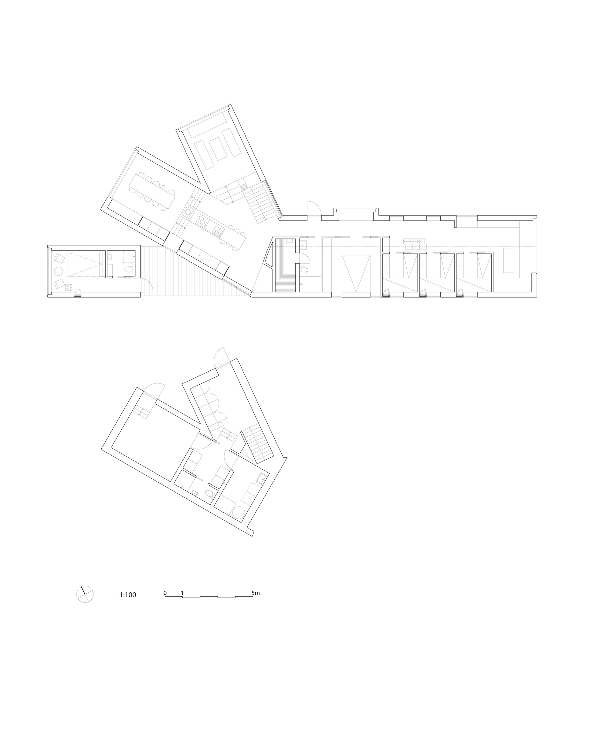 gallery of split view mountain lodge reiulf ramstad arkitekter 23