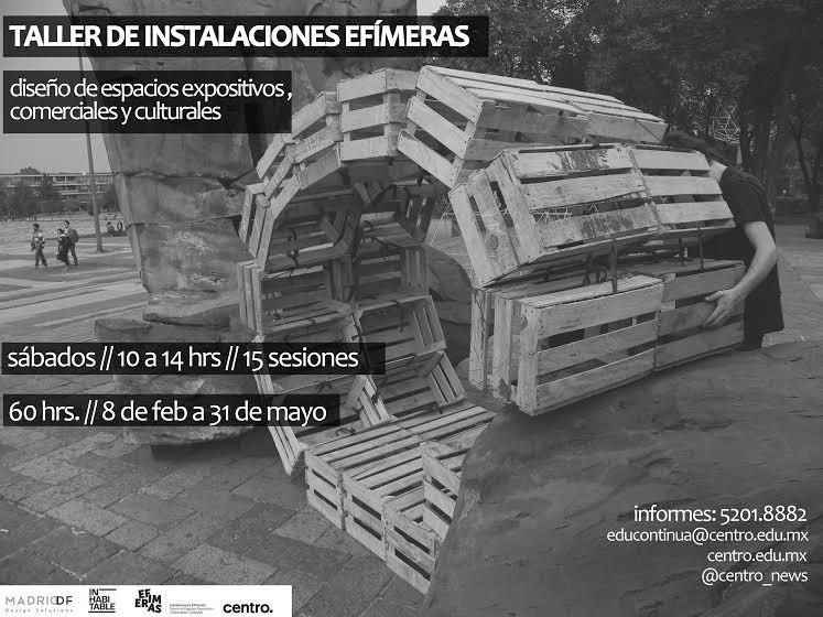 Taller de Instalaciones Efímeras / INhabitable Estudio + MadridDf